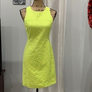 Banana Republic green sheath dress size 4